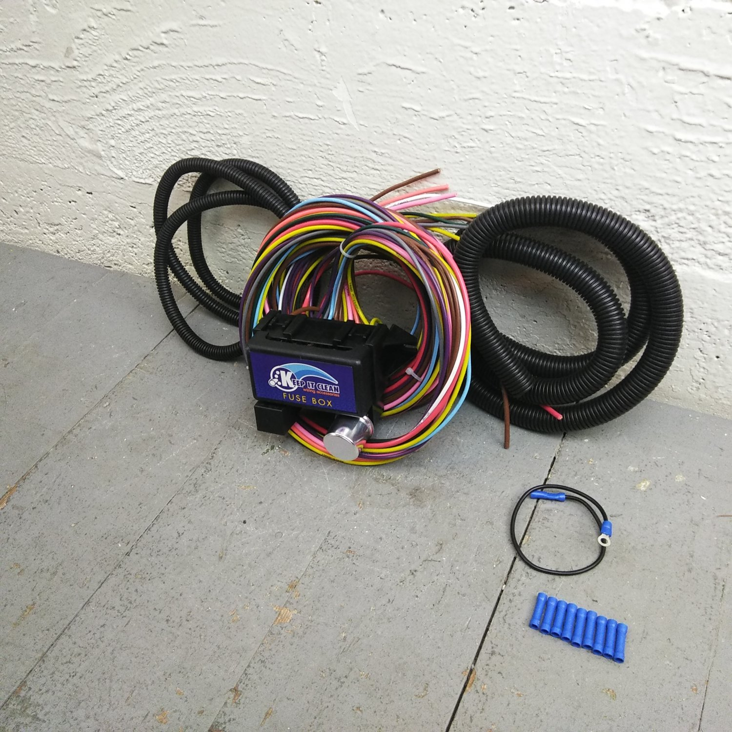 Fantastic 12V 18 Circuito Fusible De 12 Universal Kit De Arnes De Cableado Wiring Digital Resources Counpmognl