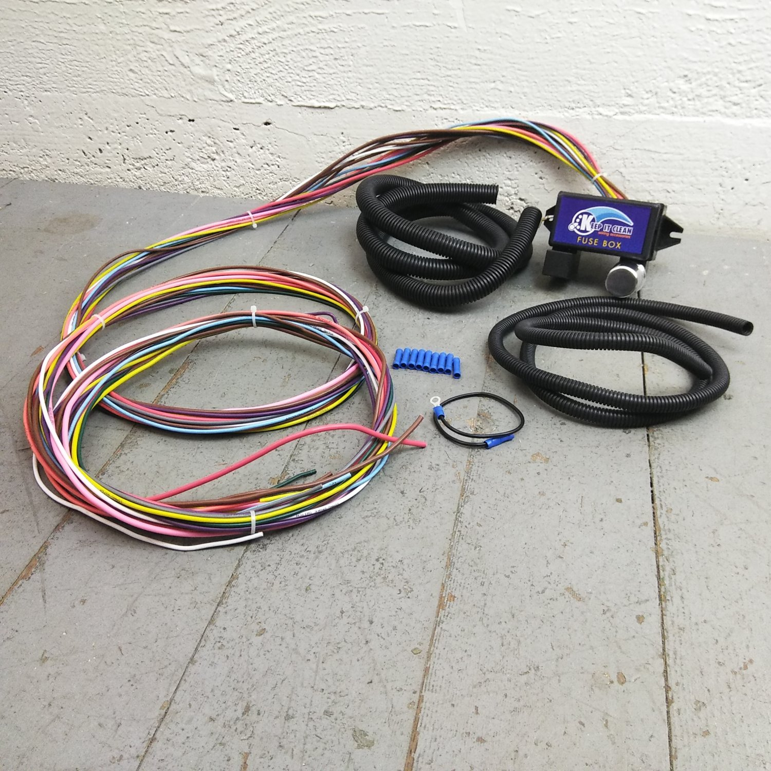 1976 Mgb Wiring Harness Schematics Diagram 1979 Kit Electrical Diagrams 2000 Chevrolet Blazer 12v 18 Circuit 12