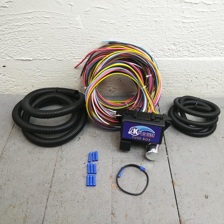 1962 - 1974 mopar b & e body wire harness fuse block upgrade kit rat rod  review  bar_product_description_c