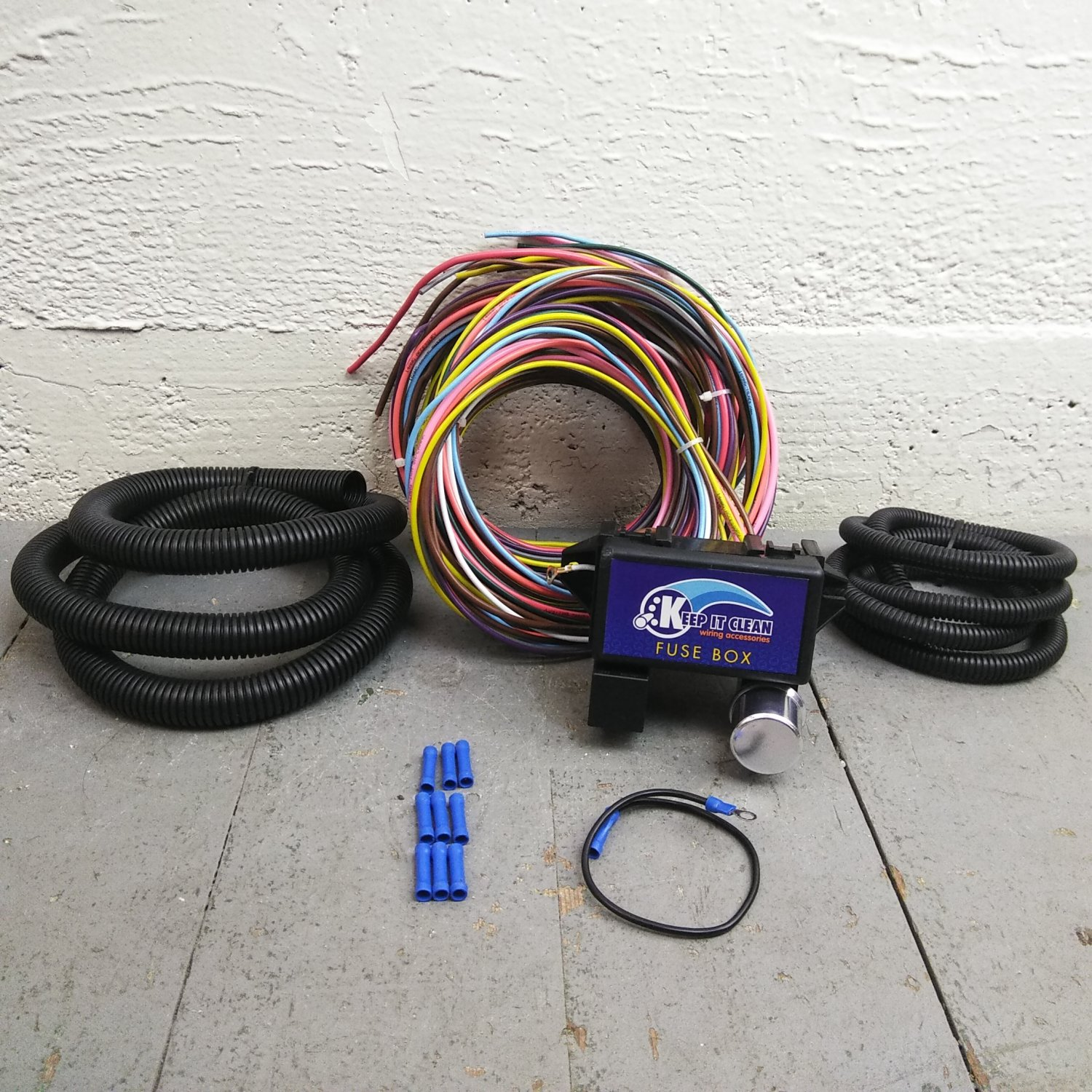 W857527 Wire Harness Parts Best Oem On Wiring Harness Kits For Rat Rod