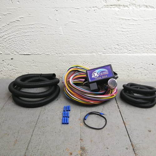 1971 - 1986 Jeep CJ 8 Circuit Wire Harness fits painless fuse block  terminal | eBayeBay