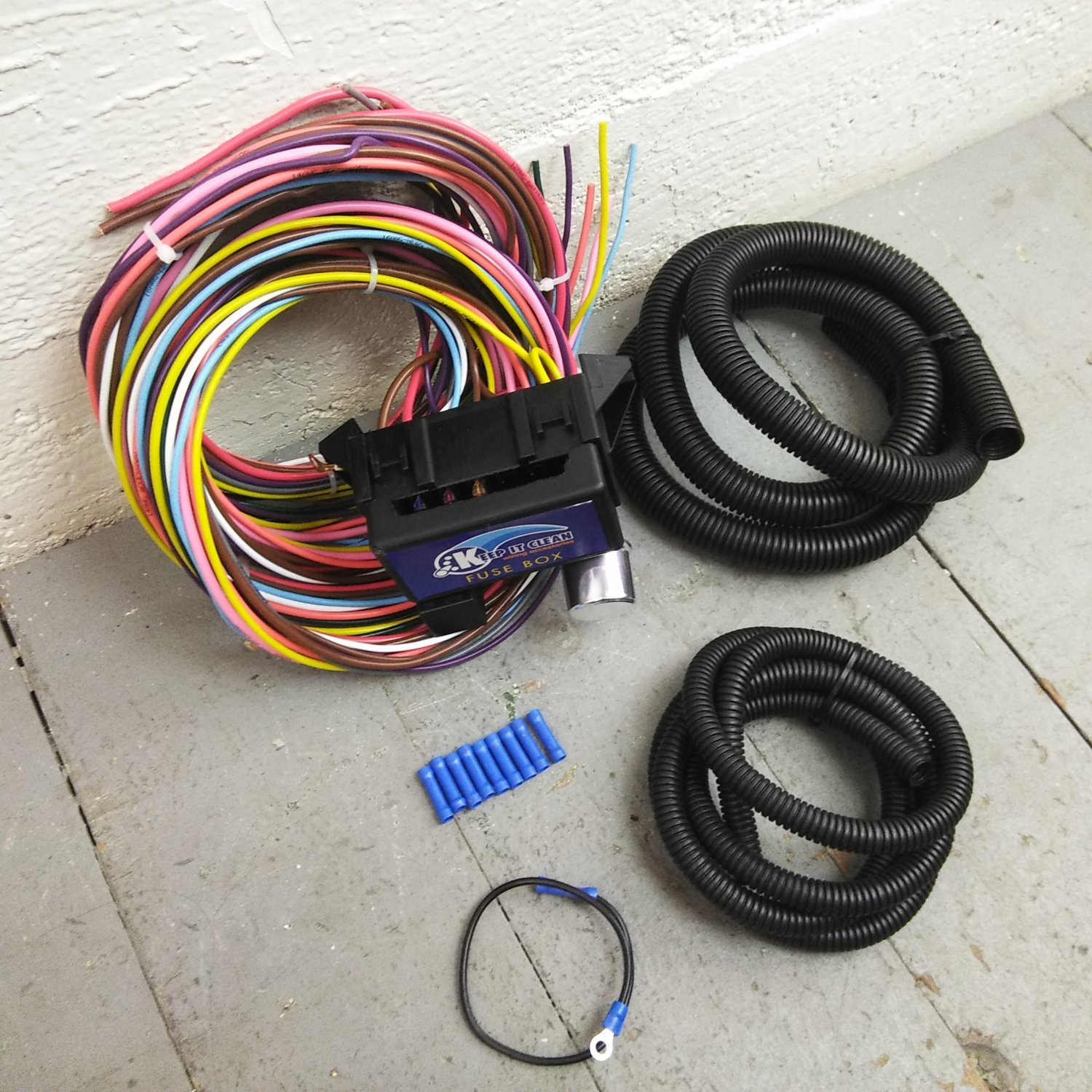 Vintage Buick Ultra Pro Wire Harness System 12 Fuse support new fit update.  Bar_Product_Description_C