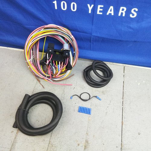 1973-1979 Ford Truck 78-1979 Bronco Wire Harness Upgrade Kit fits painless