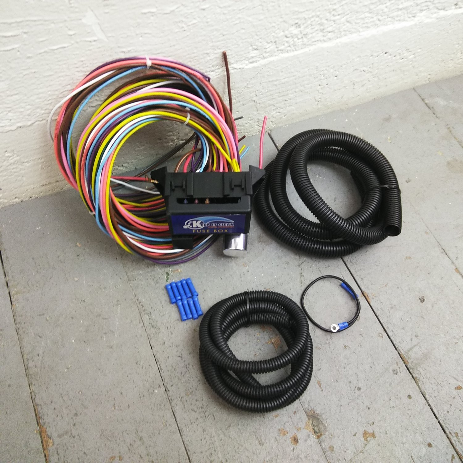 1960 1987 chevy truck 8 circuit wire harness fits. Black Bedroom Furniture Sets. Home Design Ideas