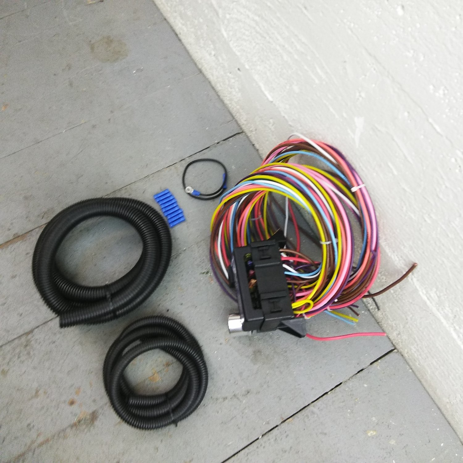 1934 - 1936 Chevy Truck 8 Circuit Wire Harness fits painless complete  update. Bar_Product_Description_C