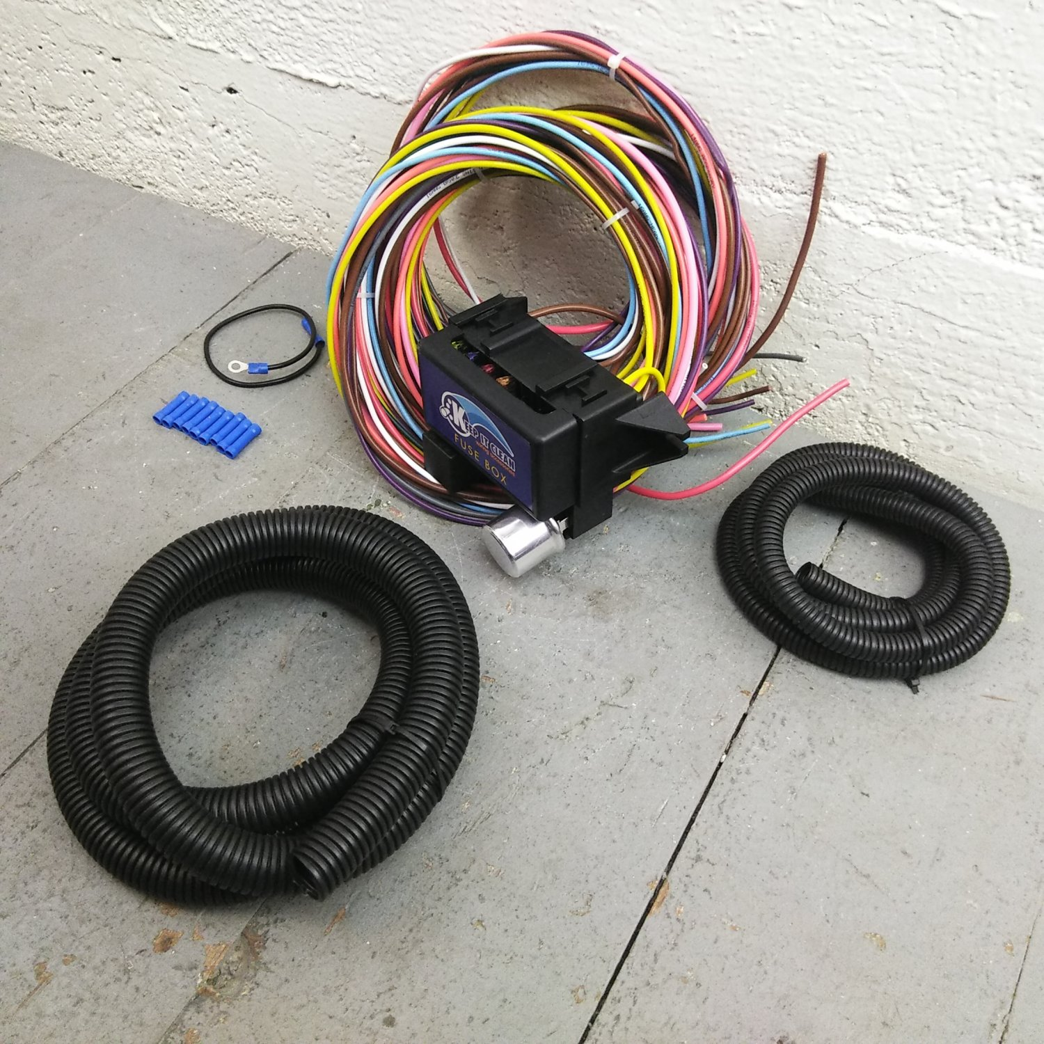 1960 1965 Ford Falcon 8 Circuit Wire Harness Fits Painless