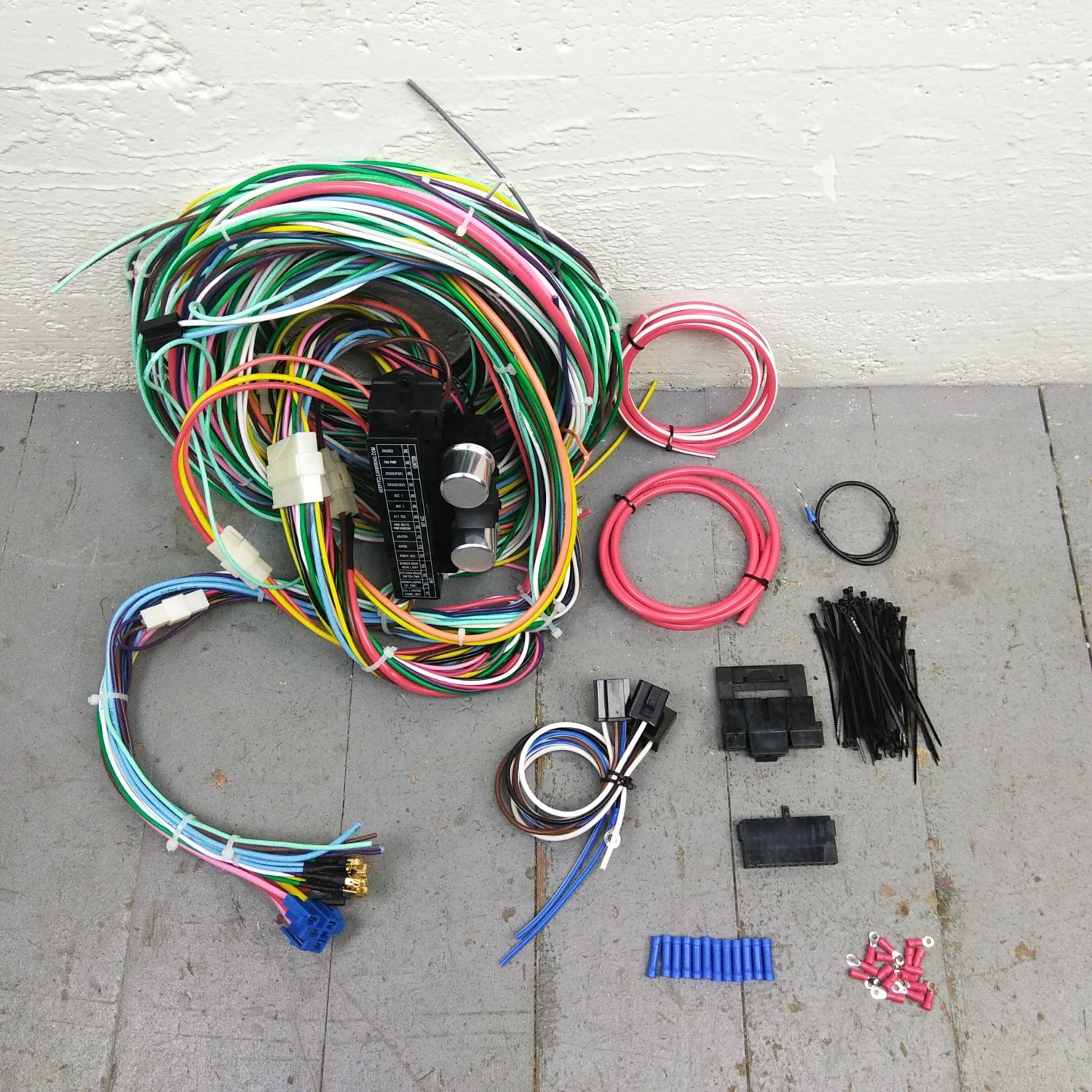 1960 1970 Mercury Cougar Wire Harness Upgrade Kit Fits Painless Wiring Tool Terminal Fuse Bar Product Description C
