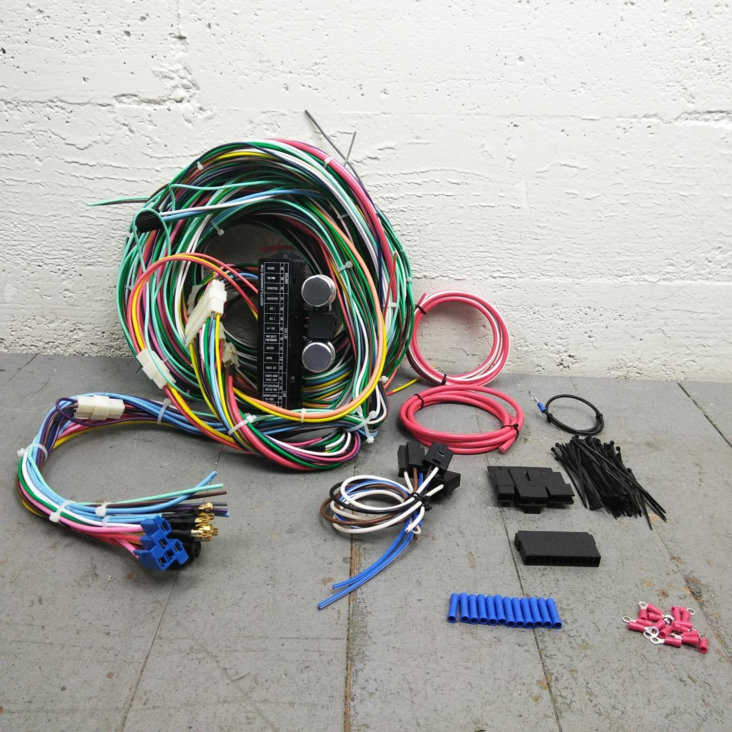 1984 camaro painless wiring harness wiring library1967 1969 chevrolet camaro wire harness upgrade kit fits painless terminal new bar_product_description_c