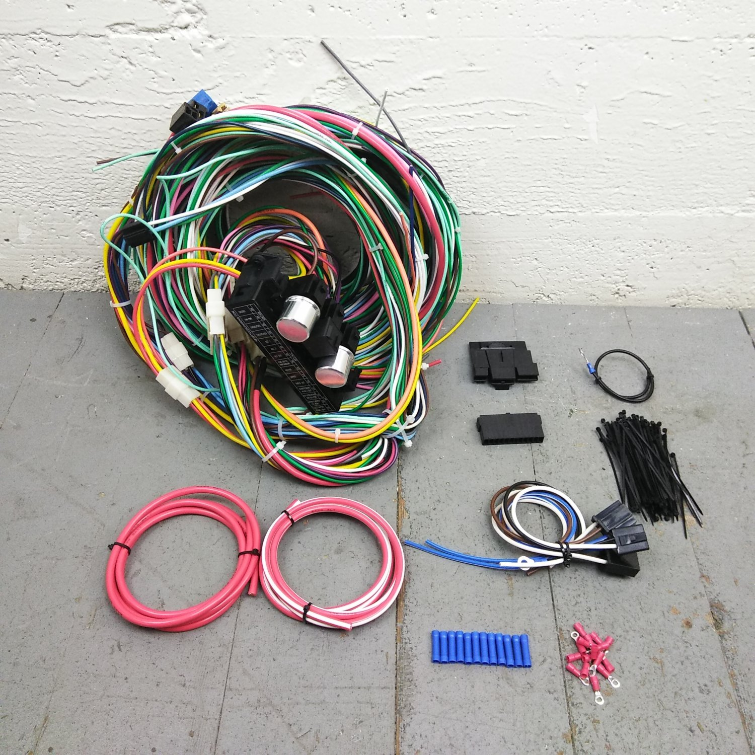 1967 1971 Plymouth Gtx Wire Harness Upgrade Kit Fits Painless Fuse Wiring Block Bar Product Description C