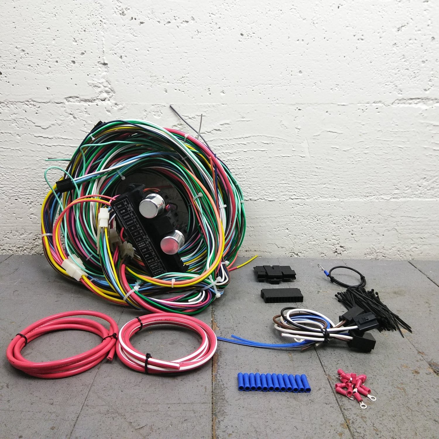 1961 - 1966 Ford Truck & Econoline Van Wire Harness Upgrade Kit fits  painless. Bar_Product_Description_C