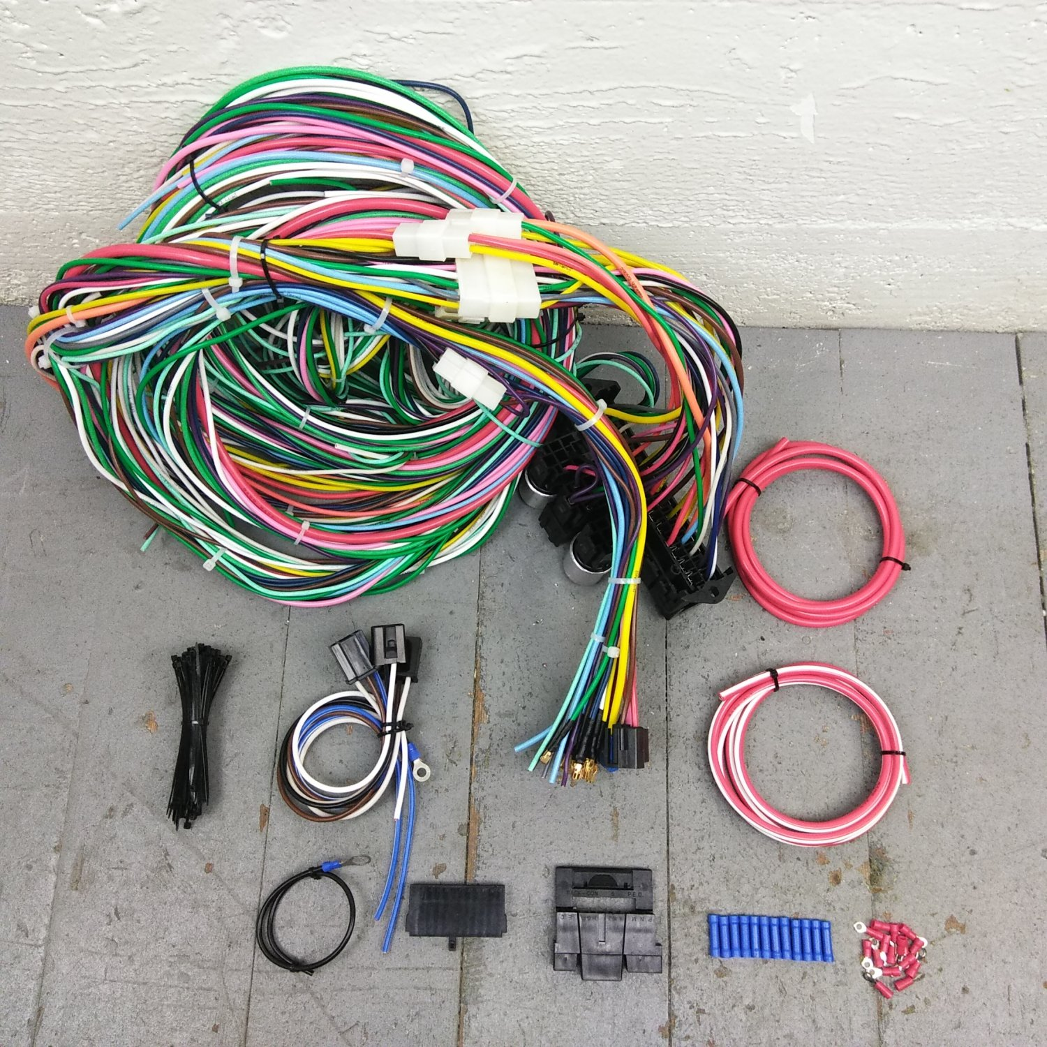 Excellent 1962 1974 Mopar B E Body Wire Harness Upgrade Kit Fits Painless Wiring Digital Resources Funapmognl