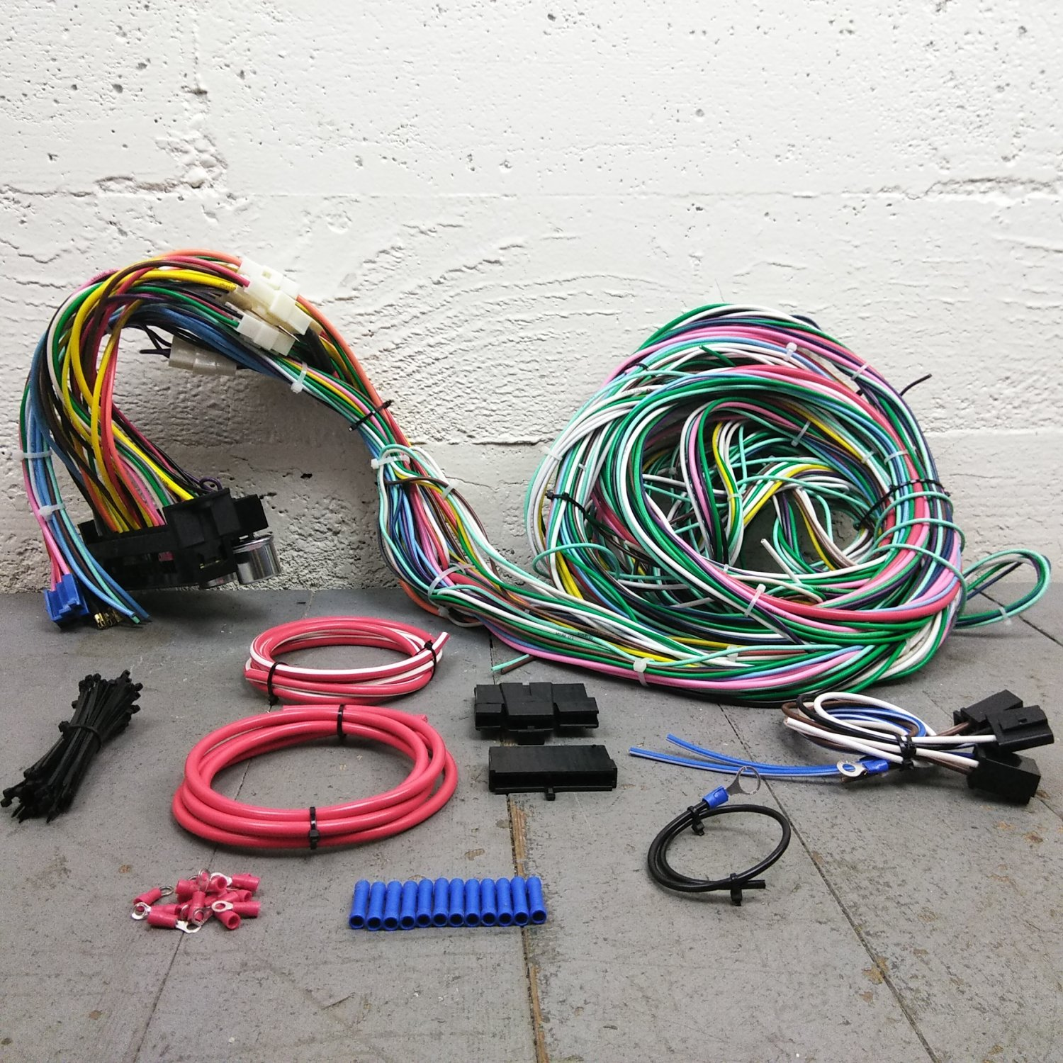 Wondrous Painless Wiring Harness Mopar Basic Electronics Wiring Diagram Wiring Cloud Pendufoxcilixyz
