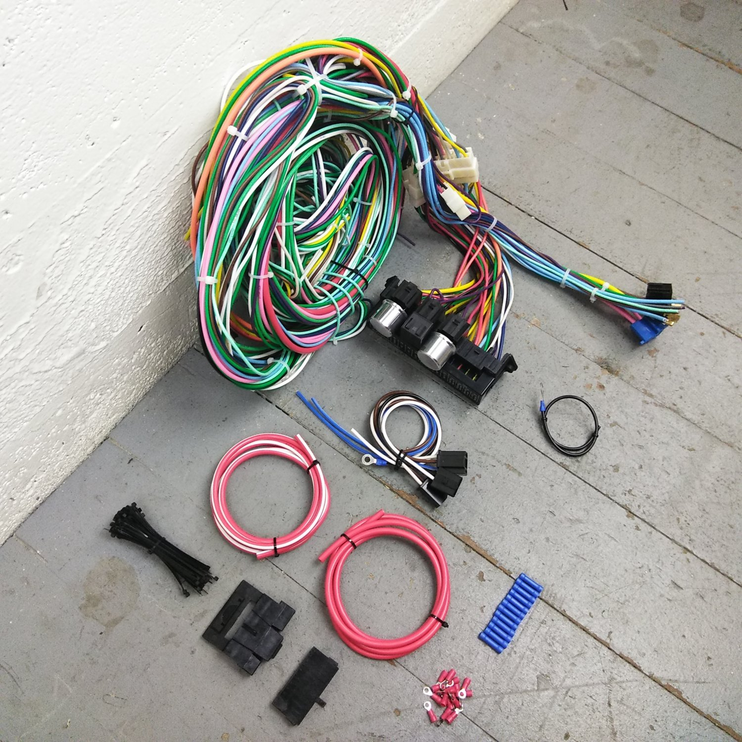 1964 - 1965 Ford Thunderbird Wire Harness Upgrade Kit fits painless new  circuit. Bar_Product_Description_C