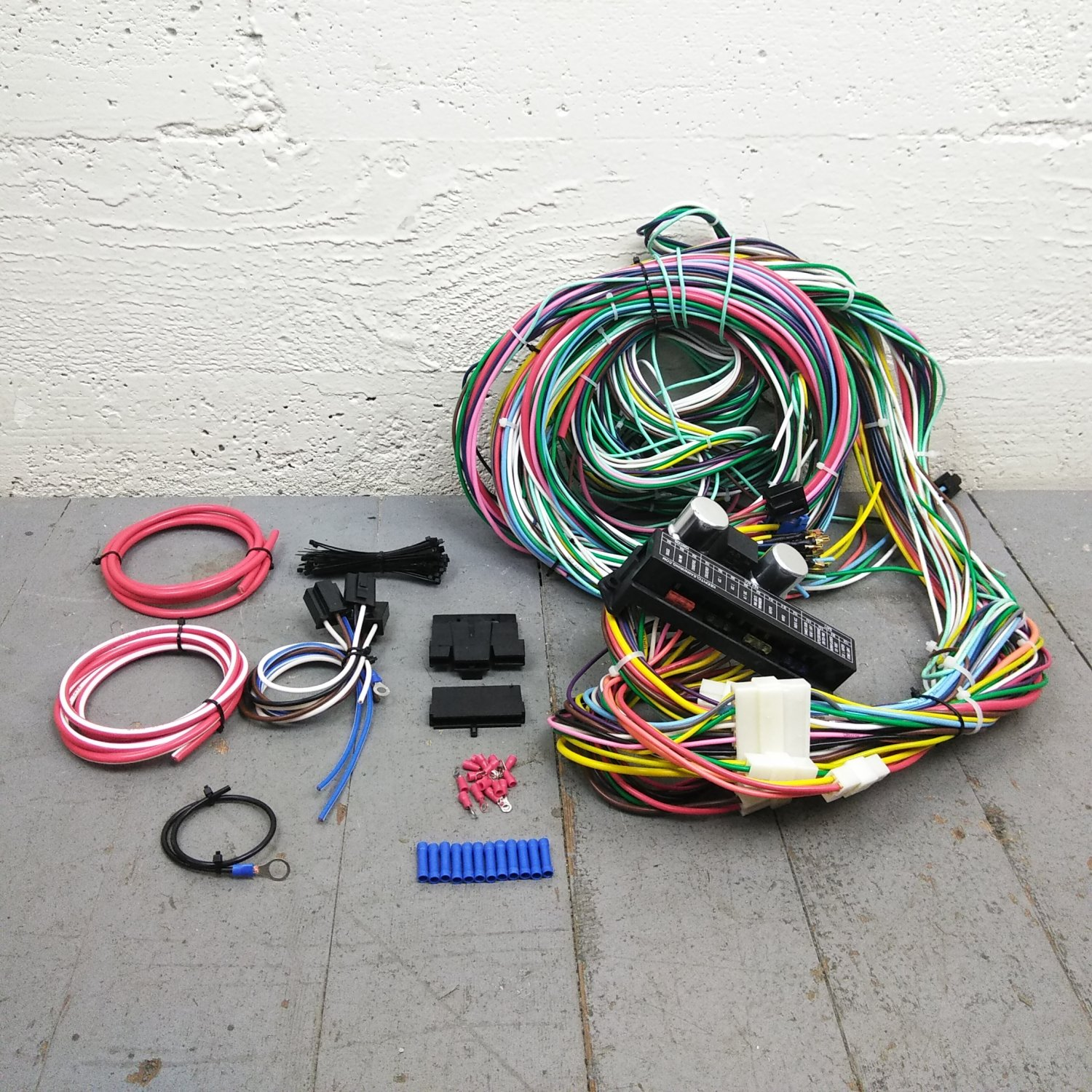1964 - 1967 Chevrolet El Camino Wire Harness Upgrade Kit fits painless  complete. Bar_Product_Description_C