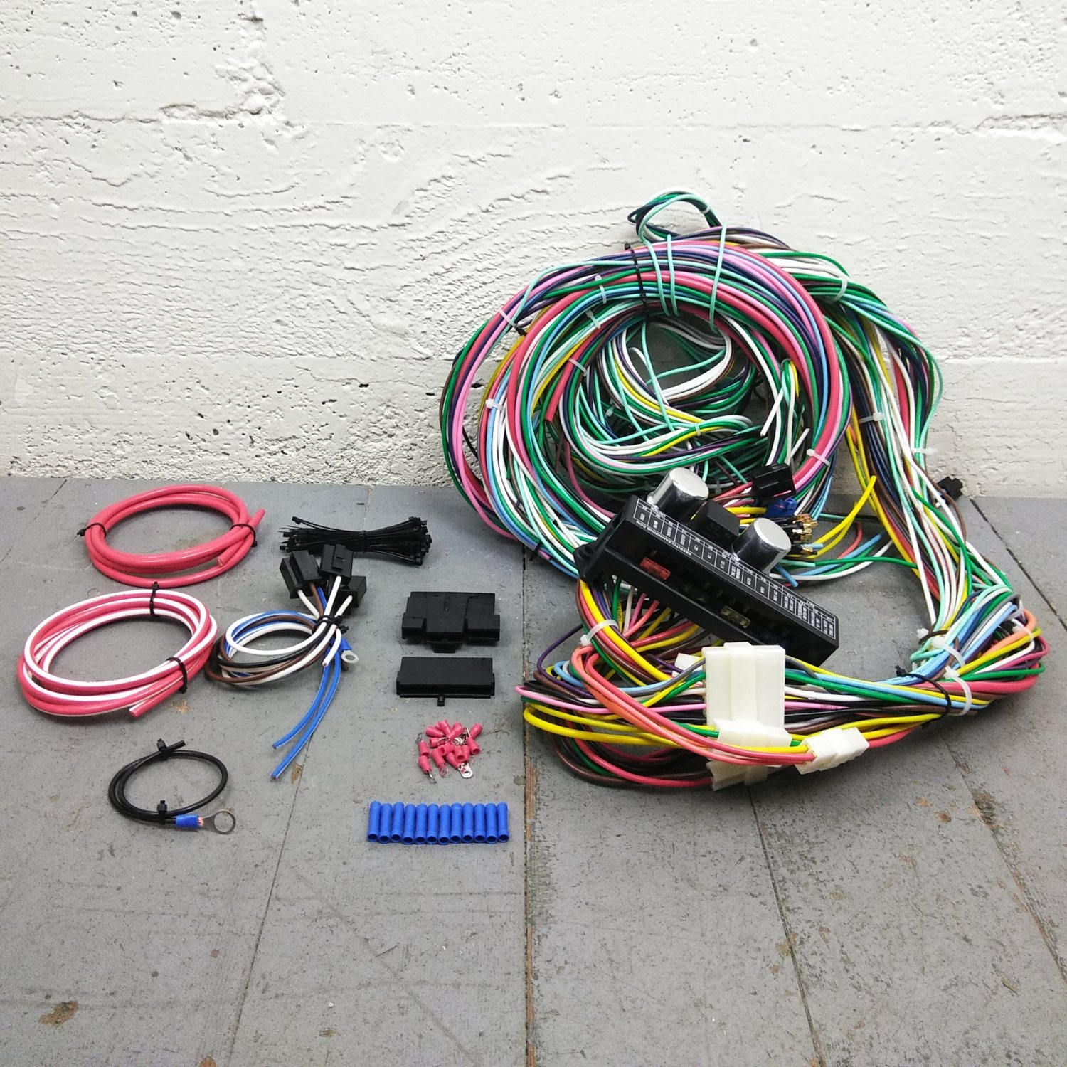 1953 - 1964 Dodge Truck Wire Harness Upgrade Kit fits painless update  terminal. Bar_Product_Description_C