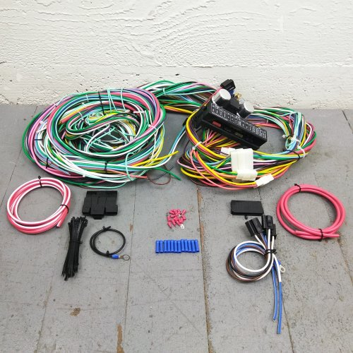 1971 - 1973 ford mustang and cougar wire harness upgrade kit fits painless  new | ebay  ebay