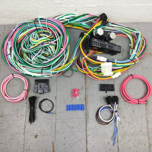 72 - 76 Ford Mercury Torino and Montego Wire Harness Upgrade Kit fits  painless | eBayeBay