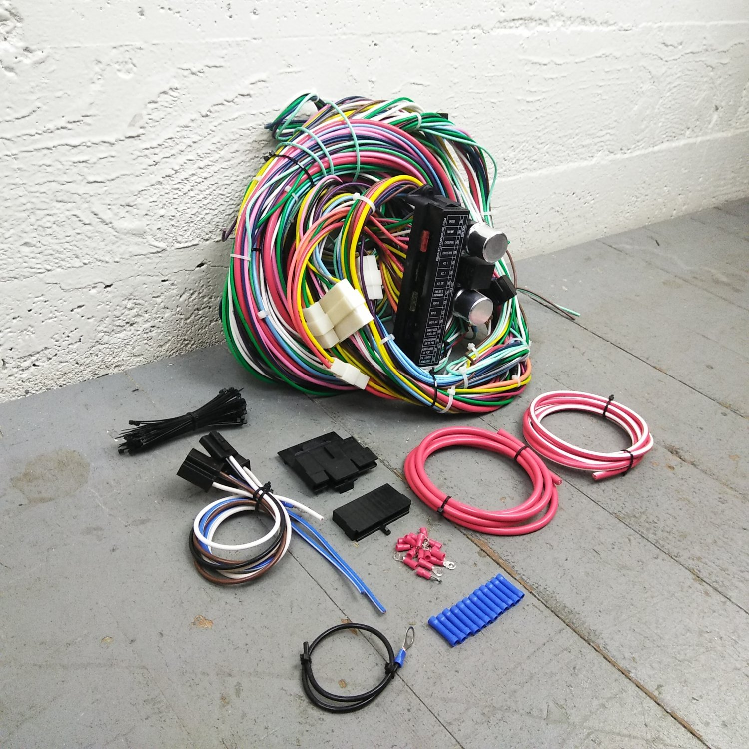 BMW 2002 Series E10 Wire Harness Upgrade Kit fits painless terminal compact  new. Bar_Product_Description_C