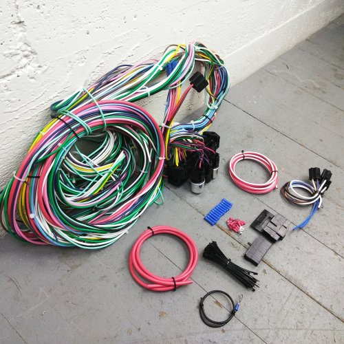 Chevy S10/ GMC Sonoma Under Dash 12V Wire Harness Kit for Carb/ Stand-Alone  EFI | eBayeBay