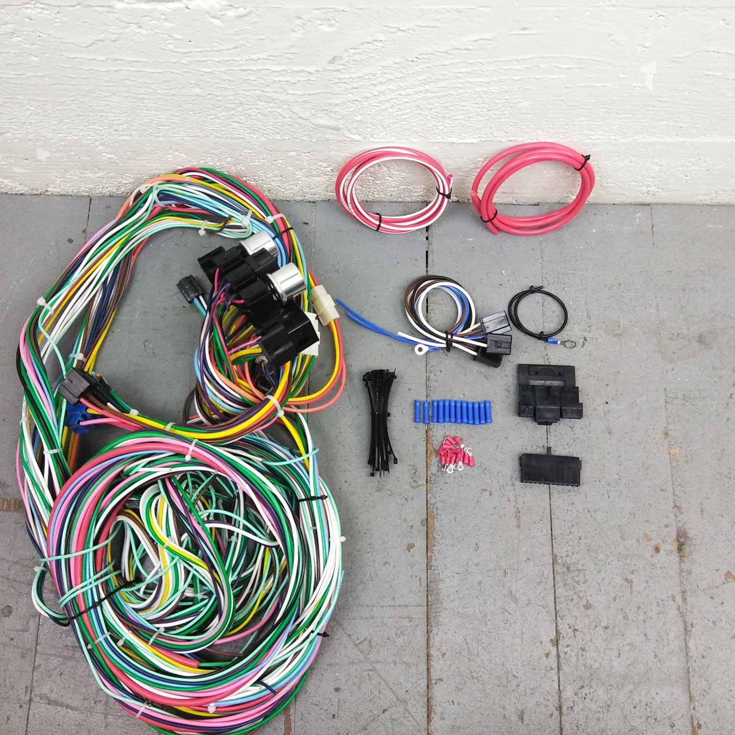 1948 Chevy Wiring Harness Electrical Diagrams 1941 Ford Car Wire Upgrade Kit Fits Painless 2004 Tahoe