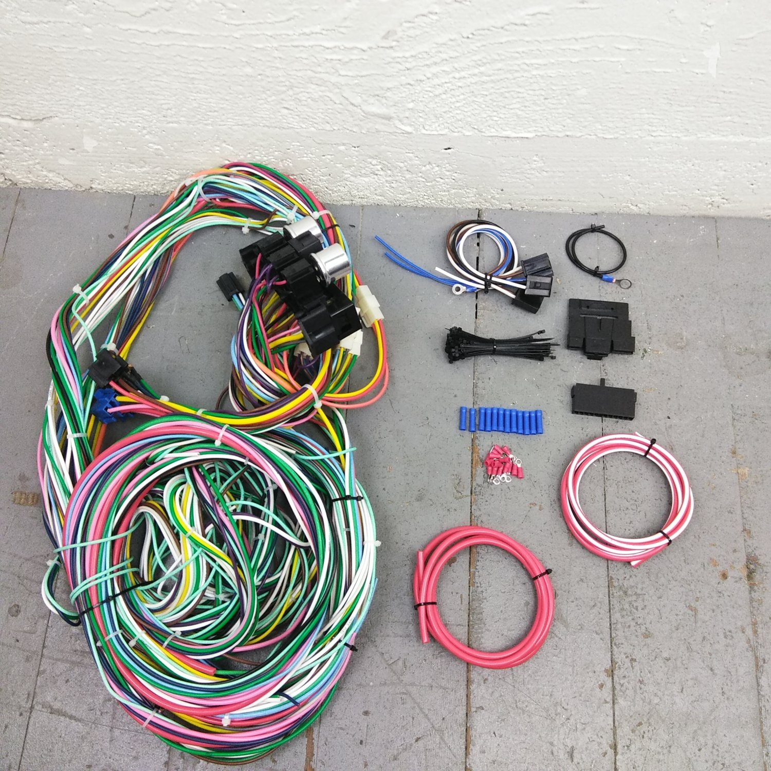 1951 1956 Cadillac And Oldsmobile Wire Harness Upgrade Kit Fits 2001 Eldorado Wiring Painless New Bar Product Description C