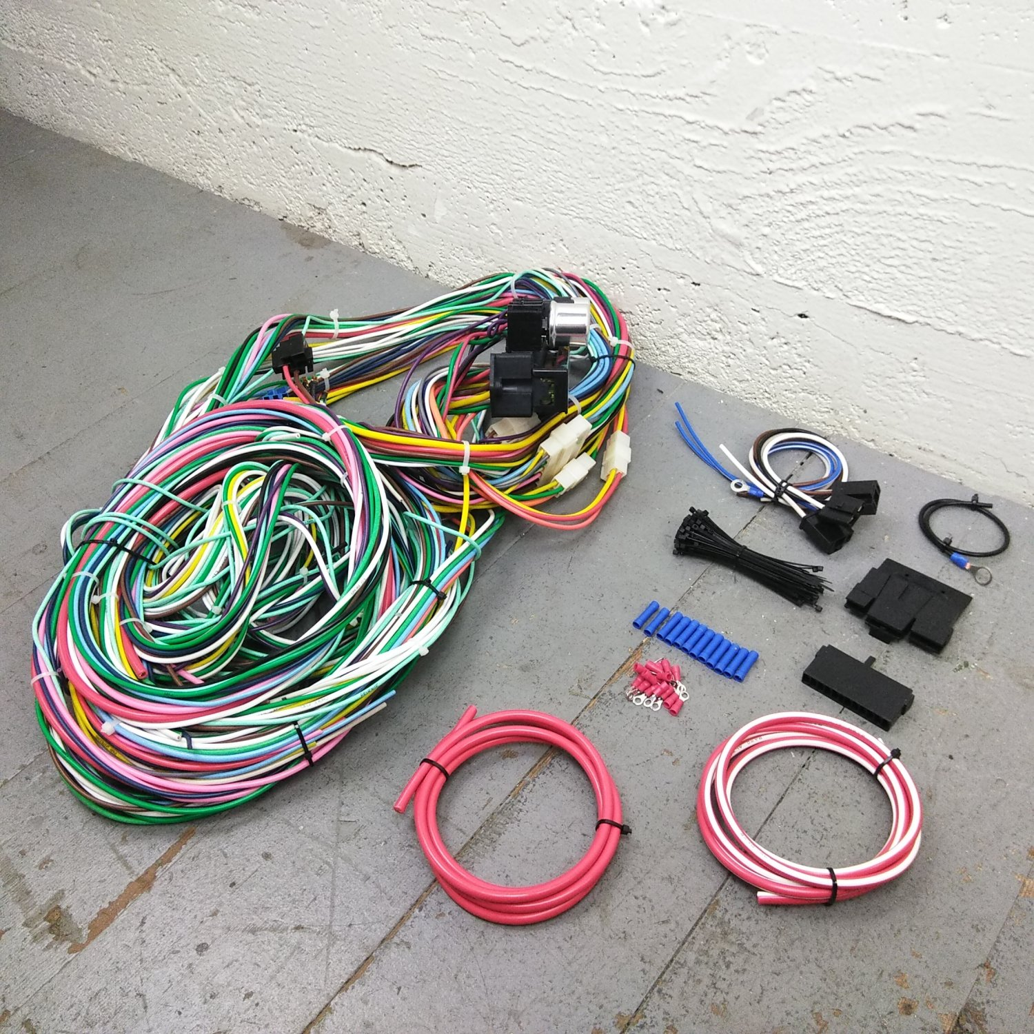 Ford Bronco Wiring Harness | Wiring Liry on 1997 f250 motor wiring harness, drag race wiring harness, universal hot rod wiring harness,