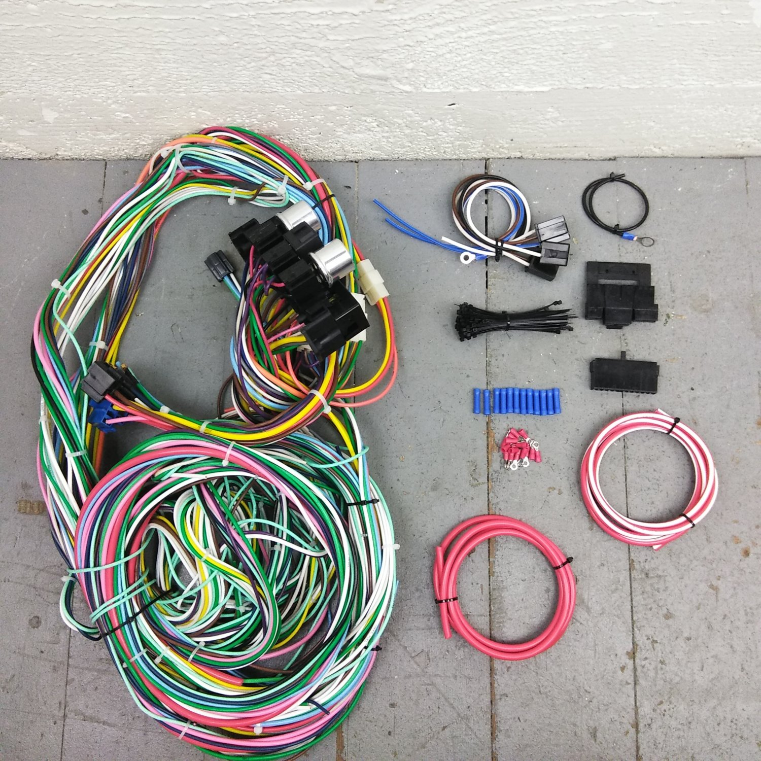 1960 - 1966 Chevy or GMC Truck Wire Harness Upgrade Kit fits painless  circuit. Bar_Product_Description_C