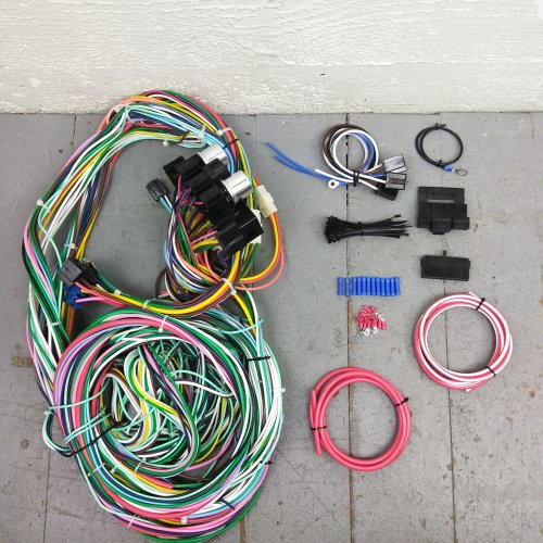1960 - 1966 Chevy or GMC Truck Wire Harness Upgrade Kit fits painless  circuit | eBayeBay