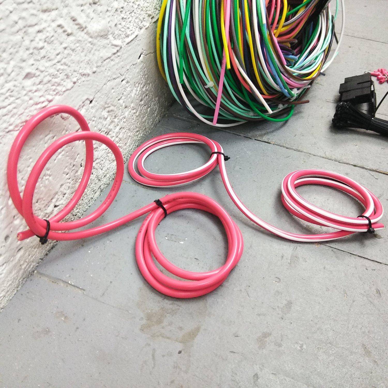 pre 1974 jeep cj2 cj5 main wire harness system aftermarket. Black Bedroom Furniture Sets. Home Design Ideas