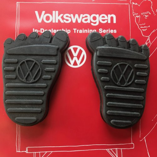 BRAKE /& CLUTCH PEDAL COVER dune buggy vw baja bug