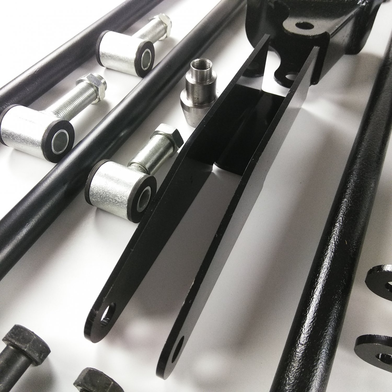 Details about Parallel Rear Suspension Four 4 Link Kit for 49-64 Studebaker  fits coilovers