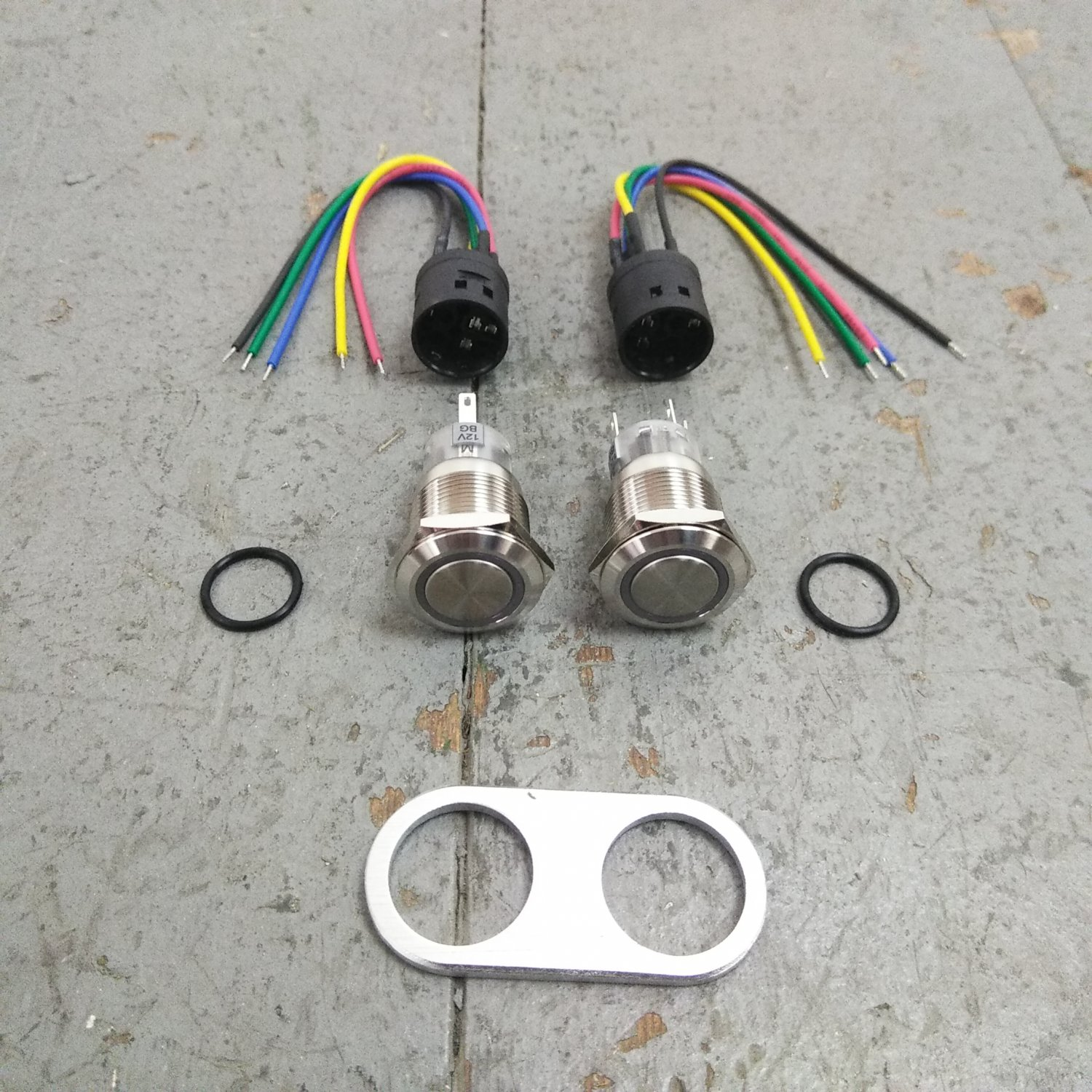 1931 50 Chevy Power Window Kit Plugplay Wiring Harness Cut To Fit Wire Interior 12v Bar Product Description C