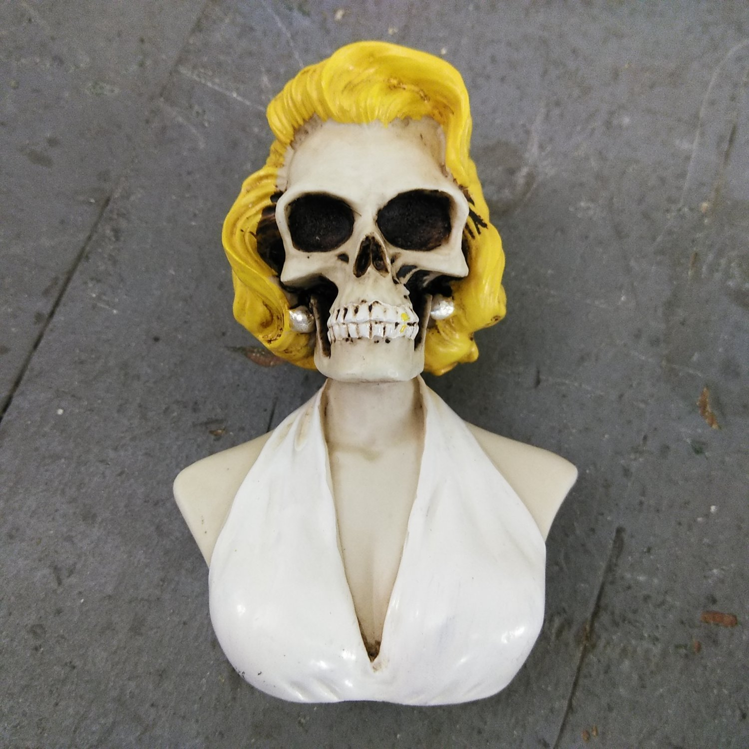 Details about Marilyn Skull Custom Shift Knob vintage hot rat street rod  50s 60s monroe v8 Car