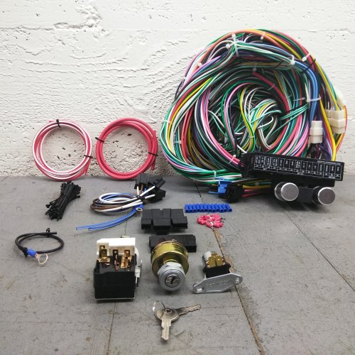 1968-74 Chevy Nova Main Wiring Harness Fuse Box Headlight Switch Kit yenko  ss V8 | eBay