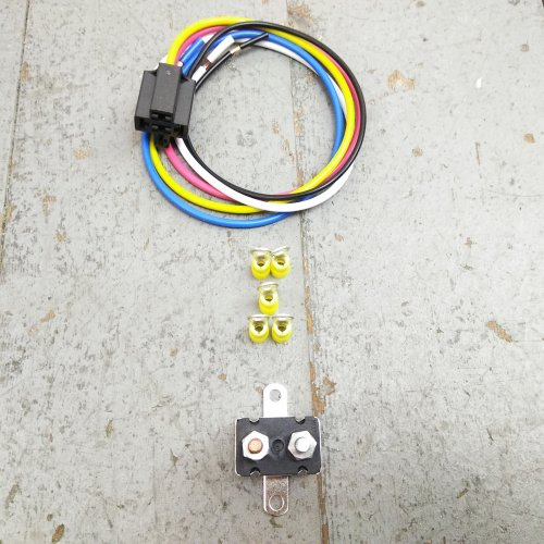 1953-86 Jeep CJ DJ Series Air Compressor Wiring Harness Kit Bag Suspension  134 | eBayeBay